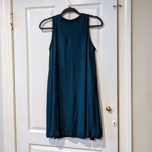 LOFT Dresses - LOFT Teal Swing Dress Sz SP